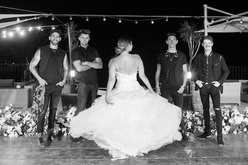 UK band for destination wedding