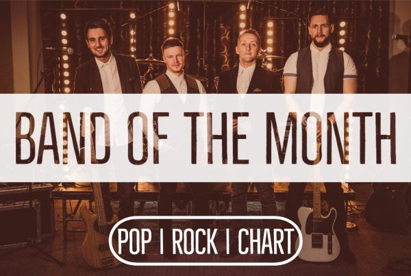 Audio Sugar Wedding band of the Month