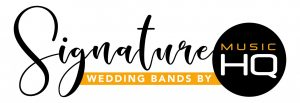 A signature wedding band by Music HQ