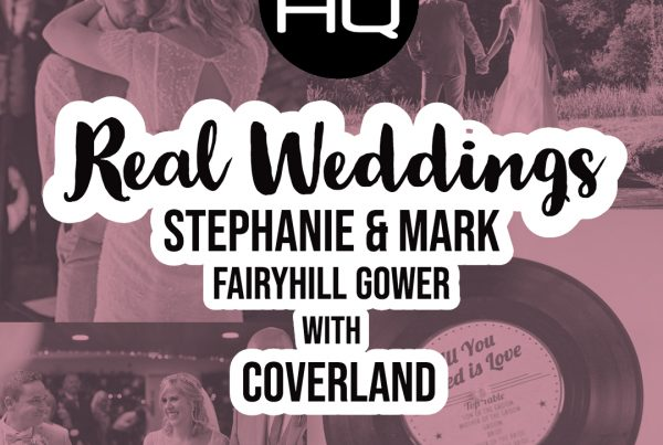 Coverland wedding and party band at Fairyhill Gower