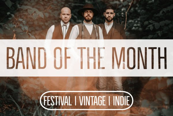 Mumford and Sons style band The Wilderness are Music HQs December Band of the Month