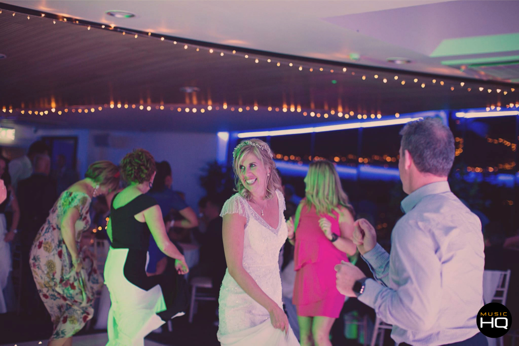 Wedding music and dancing at Fairyhill
