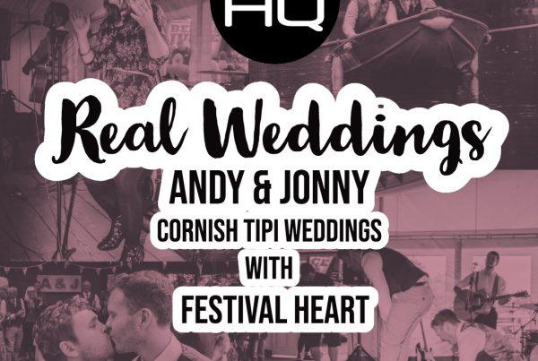 Wedding Music Cornish Tipi Wedding