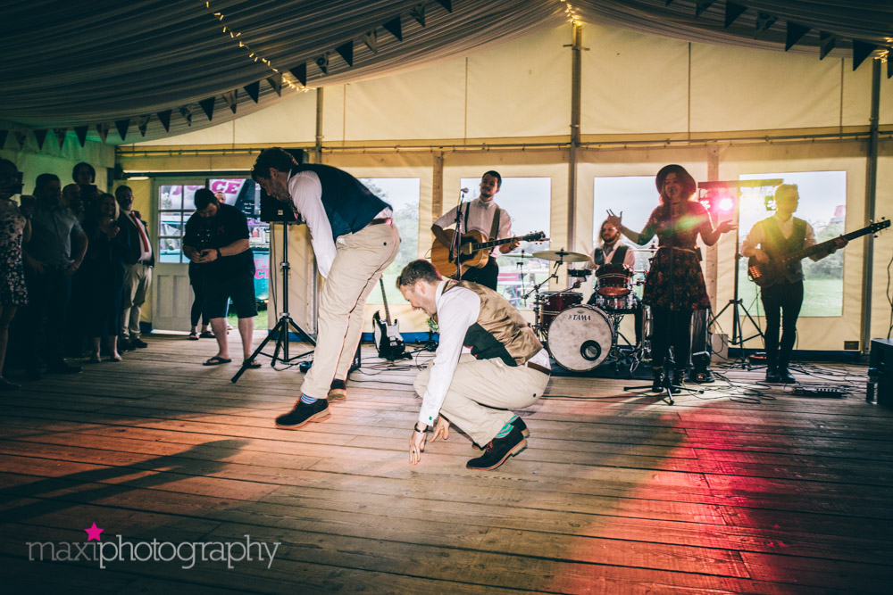 Mumford and Sons style band Festival Heart performing a First Dance