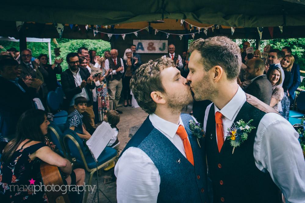 Music HQ providing wedding music to Cornish Tipi Weddings