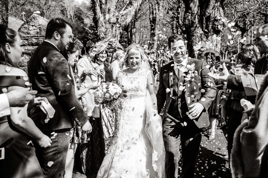 oldwalls wedding party